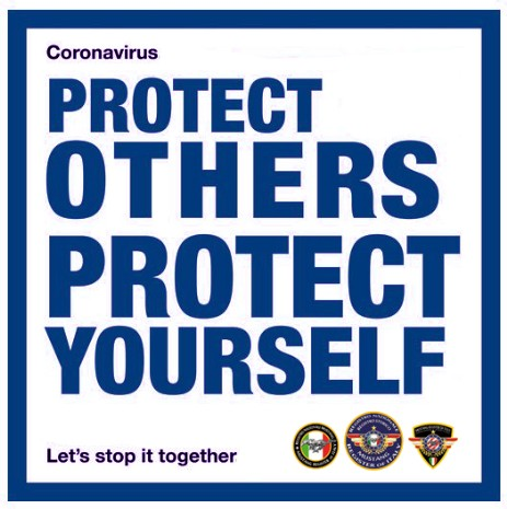 Coronavirus: Protect the others, Protect yourself. Let's stop it together - Mustang Register of Italy MRI