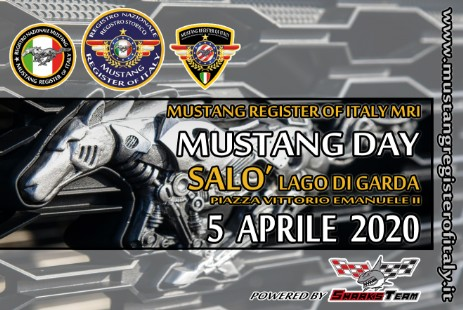 Mustang Day Salò con Mustang Register of Italy MRI
