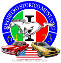 Logo storico RSM - Classic Mustang Italy :: Mustang Register of Italy - Registro nazionale Ford Mustang - Registry italiano