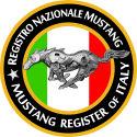 Logo Mustang Register of Italy - Registro nazionale Ford Mustang - Registry italiano